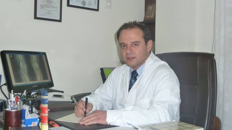 Ελευθέριος Καραδήμας Ορθοπαιδικός Χειρούργος - Τραυματιολόγος